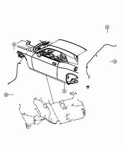 2012 Dodge Challenger Wiring  Rear Fascia  Park  Assist