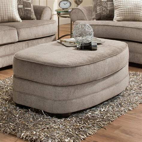 Simmons Ottoman by Simmons Upholstery 9255br Oval Ottoman Royal Furniture