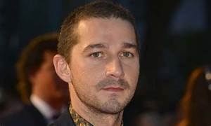 Shia LaBeouf Looks Completely Weird Playing His Balding ...