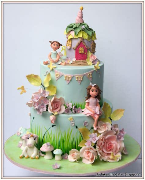 fairy garden cake cakecentralcom