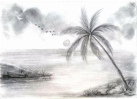 landscape drawing ideas awesome nature scenry sketch ideas