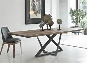 Bontempi Millennium Wood Dining Table - Modern Dining Tables