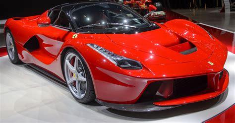 fastest ferrari  unveiled    hybrid