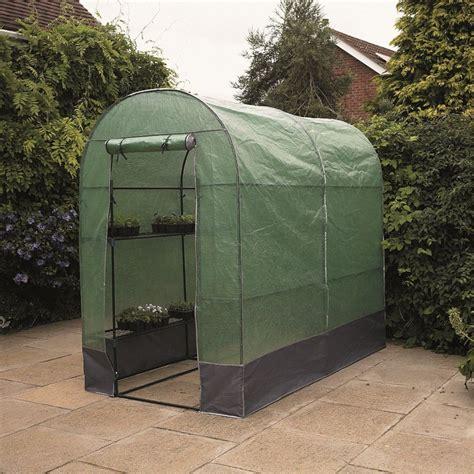 gardman walk in grow arc garden greenhouse with shelving