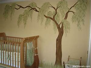willow tree wall mural several examples of hand painted With willow tree wall decal ideas