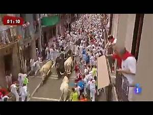 WATCH: Horror crush in Pamplona bull run…..23 injured ...