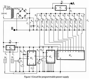 full featured touch control programmable power supply With programmable digital timer circuit