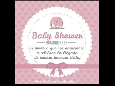 dise 241 o invitaciones para baby shower digitales personalizadas