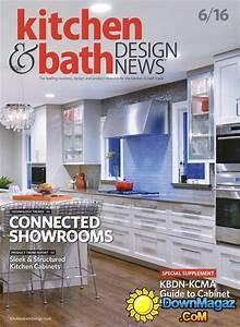 kitchen bath design news june 2016 download pdf With kitchen and bath design news