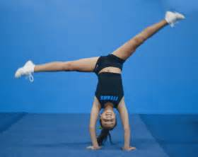 Competitive Cheerleading Tumbling