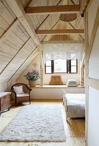 dachgeschoss einrichten ein optimales und charmantes With balkon teppich mit moderne tapeten schlafzimmer