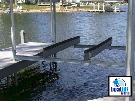 World Cat Boat Cradle by 4000 Lb Overhead Steel Boat Lift Boat Lift World