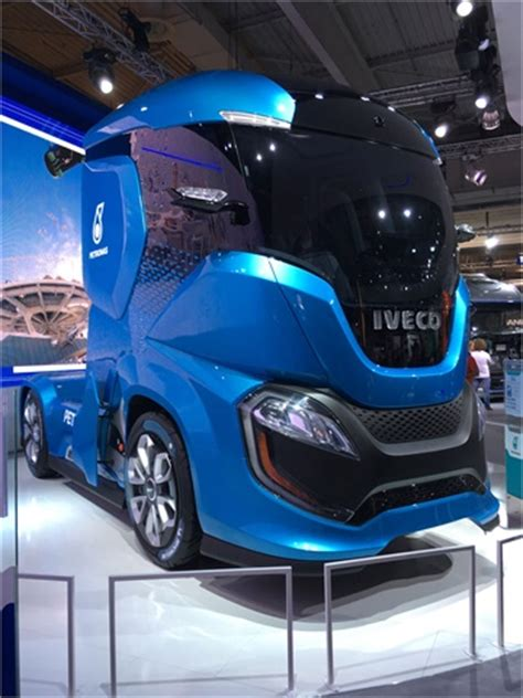italy based truck maker iveco revealed   truck concept