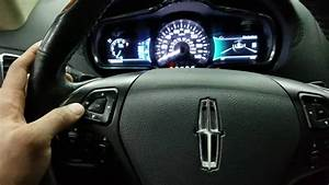 2014 Lincoln Mkt Reset Change Engine Oil Light