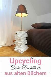 Tisch Aus Büchern : upcycling beistelltische aus alten b chern selber machen ikea hacks pinterest alte b cher ~ Buech-reservation.com Haus und Dekorationen