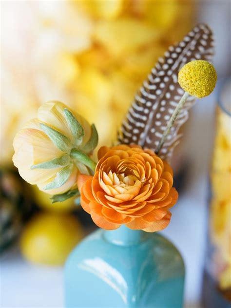 Turquoise Orange and Yellow Color Scheme