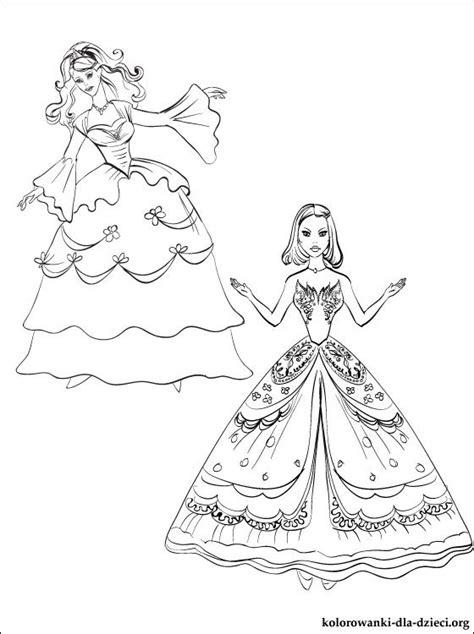 rysunek lalka barbie  kolorowania kolorowanki dla dzieci