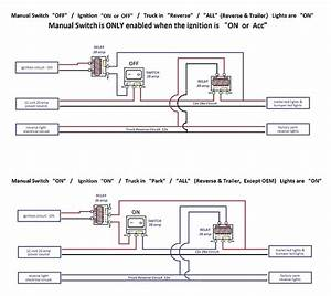 Wiring Diagram For Auxiliary Reverse Lights