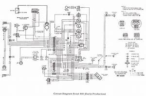 For International 1066 Cab Wiring Diagrams