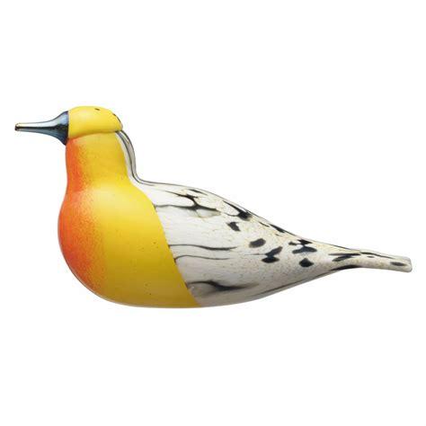 Iittala Shop by Iittala Toikka Blackburnian Warbler Shop All Glass Birds