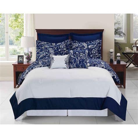 ideas  navy blue comforter  pinterest blue