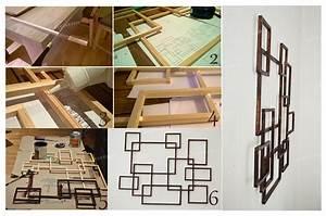 Décoration Murale En Bois : d co murales id es d co originales partir de mat riaux ~ Dailycaller-alerts.com Idées de Décoration