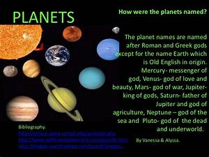 Planets Names In English (page 4) - Pics about space