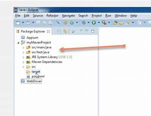 eclipse Why is my Maven file structure different from