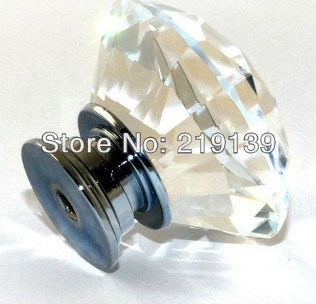 glass kitchen cabinet knobs and pulls 100pcs 30mm clear cabinet glass dresser 8316