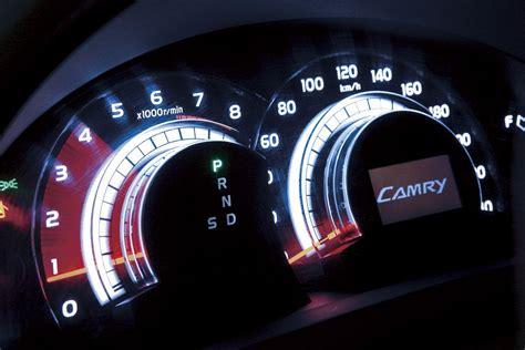 speedometer tachometer toyota nation forum toyota car