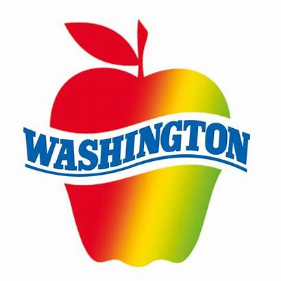 Washington Apple Commission Apples Map Promotional Guide