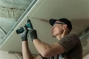 Comment Faire Un Plafond En Placo : pose placo ce qu il faut savoir ~ Dailycaller-alerts.com Idées de Décoration
