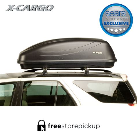 luggage rack car x cargo sport black 90035p 20 cu ft car top carrier