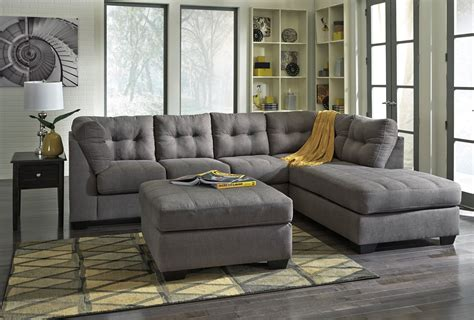Furniture : Maier Charcoal Raf Sectional From Ashley (