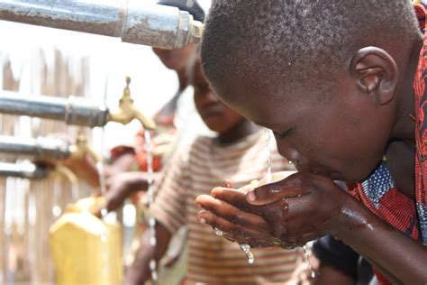 increasing sustainable access  water sanitation
