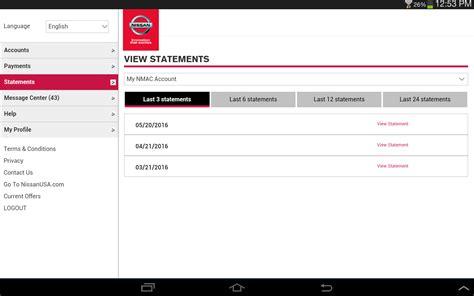 Nissan Bill Pay by Nissan Motor Acceptance Corporation Bill Pay Impremedia Net
