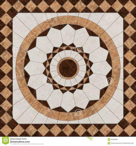 stone floor pattern tiles stock illustration image