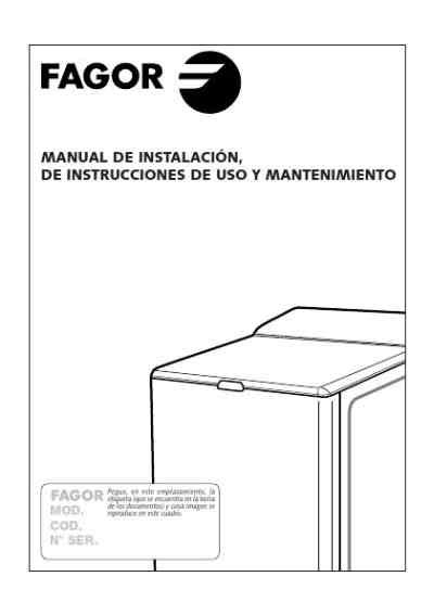 fagor ft 311s washing machine user guide for free a0fb manual guru