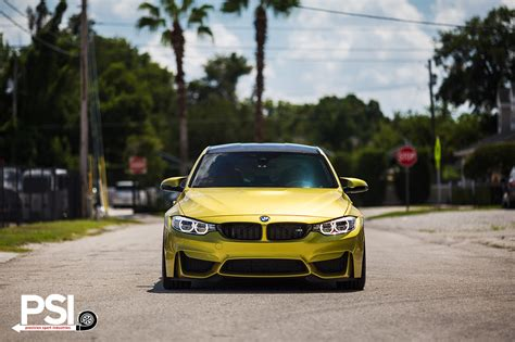 Austin Yellow Bmw F80 M3 By Precision Sport Industries