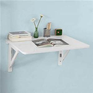 Table Cuisine Murale : sobuy table murale rabattable en bois 75 60cm blanc table de cuisine fwt05 w fr achat prix ~ Melissatoandfro.com Idées de Décoration