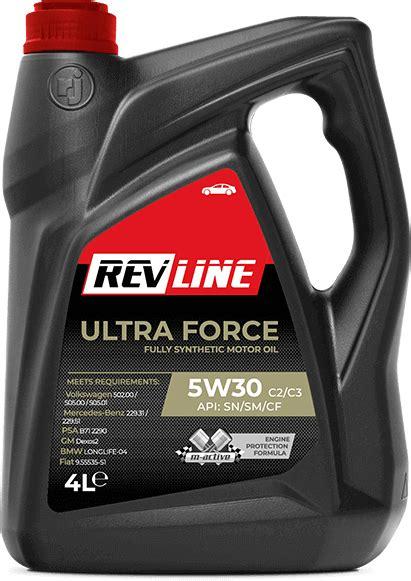 olej silnikowy revline ultra force cc  revline