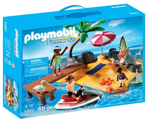 Christmas Tree Stand Amazon by Playmobil Summer Fun Play Set Only 9 99 Reg 24 99