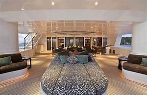 Yacht De Luxe Interieur : hemisphere un catamaran grand luxe de 44m de long ~ Dallasstarsshop.com Idées de Décoration
