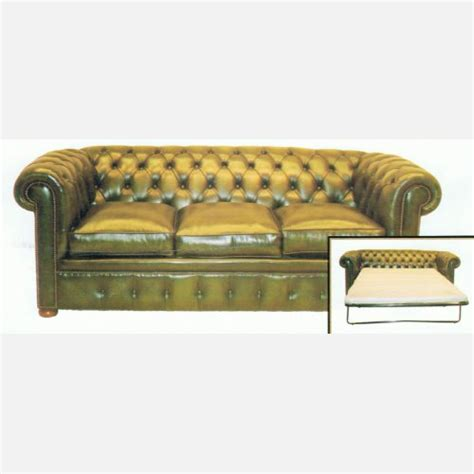 Chesterfield Bed Settee by Chesterfield 3 Sitzer