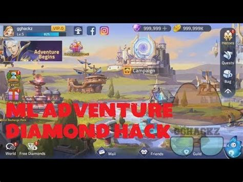 mobile legends adventure mod apk   hack ml