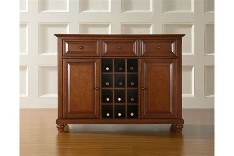 Hutch Sideboard Buffet by Cambridge Buffet Server Sideboard Cabinet With Wine