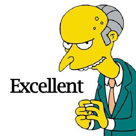 Mr. Burns excellent   Burns simpson, Mr burns simpsons, Mr ...
