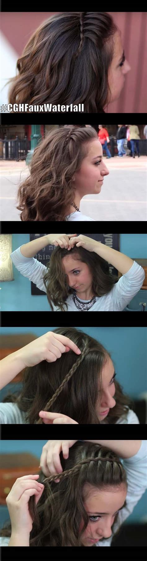 33 quick and easy hairstyles for straight hair page 2 of