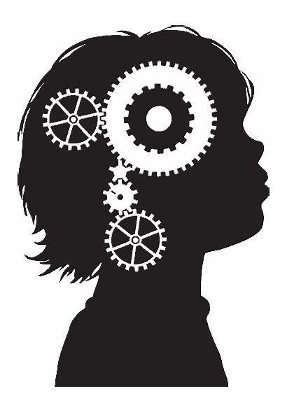 Gears Turning Brain Psychology Human Machine Anime