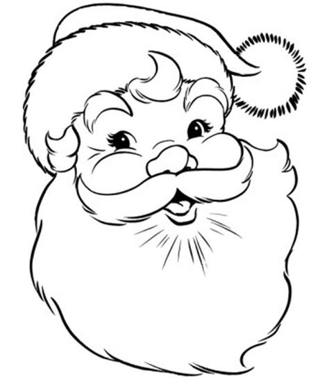 santa claus pictures to color coloring pages of santa claus coloring home
